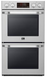 """LSWD307ST LG Studio 30"""" Smart WiFi Enabled Built-in Double Electric Wall Oven with Self Clean and Easy Clean - Stainless Steel"""