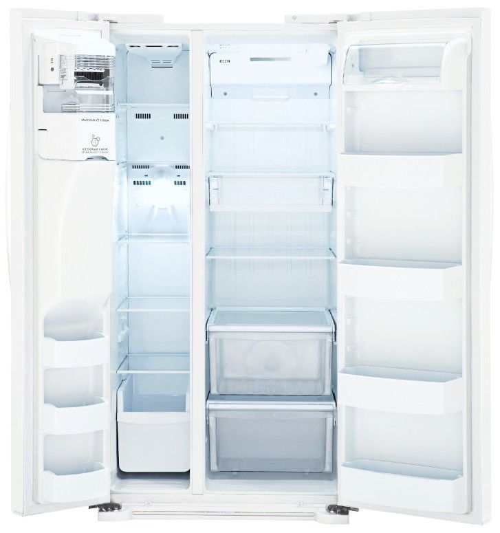 Lsxs22423w Lg 22 Cu Ft Side By Side Refrigerator With