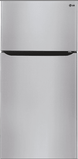 LTWS24223S LG 23.8 Cu. Ft. Top-Freezer Refrigerator with SmartDiagnosis and Humidity Control Crispers - Stainless Steel