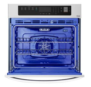 """LWS3063ST LG 30"""" Wall Oven with 4.7 cu. ft. Capacity and Convection - Stainless Steel"""