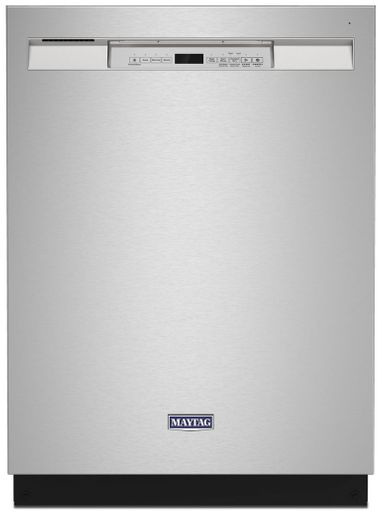 MDB4949SKZ Maytag Steel Tub Dishwasher with Dual Power Filtration - Fingerprint Resistant Stainless Steel