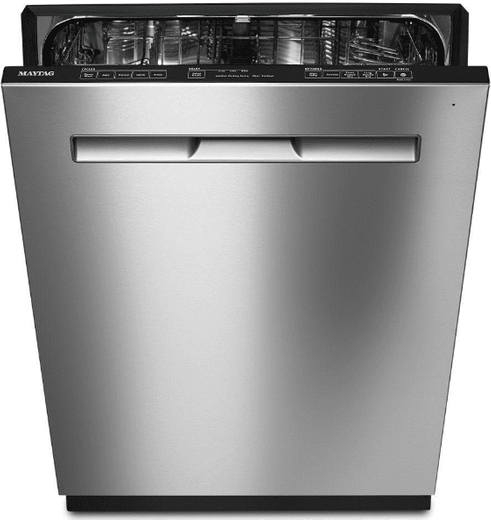 """MDB7959SHZ Maytag 24"""" Fully Integrated Dishwasher with Touch Controls and Touch Controls - Stainless Steel"""