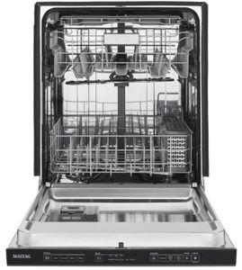 "MDB8989SHK Maytag 24"" Fully Integrated Dishwasher with Hard Food Disposer and Touch Controls - Cast Iron Black"
