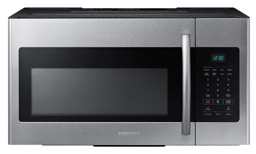 ME16H702SES Samsung 1.6 cu.ft. Over The Range Microwave  - Finger Print Resistant Stainless Steel