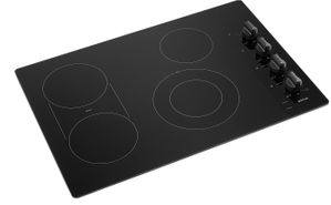"""MEC8830HB Maytag 30"""" Ceramic Glass Electric Cooktop with Quick Preheat and Precise Cooking - Black"""