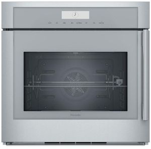 """MED301LWS Thermador 30"""" Masterpiece Single Built- In Oven - Left Hinge - Stainless Steel with Masterpiece Series Handle"""