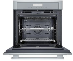 "MED301WS Thermador 30"" Masterpiece Single Built-In Oven  - Stainless Steel with Masterpiece Series Handle"