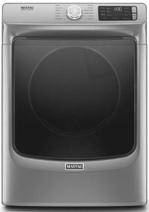"MED6630HC Maytag 27"" 7.3 cu. ft.  Electric Dryer with Steam-Enhanced Dryer and Advanced Moisture Sensing  - Metallic Slate"