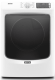 """MED6630HW Maytag 27"""" 7.3 cu. ft.  Electric Dryer with Steam-Enhanced Dryer and Advanced Moisture Sensing  - White"""