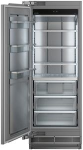 "MF3051 Liebherr 30"" Monolith Built-In Counter Depth Column All Freezer with SuperFrost and SuperQuiet - Reversible Hinge - Custom Panel"