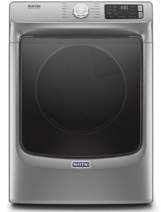"MGD6630HC Maytag 27"" 7.3 cu. ft. Gas Dryer with Steam-Enhanced Dryer and Advanced Moisture Sensing - Metallic Slate"