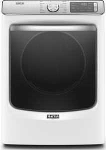"MGD8630HW Maytag 27"" 7.3 cu. ft. Gas Dryer with Steam-Enhanced Dryer and Giant Capacity  - White"