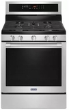 "MGR8800FZ 30"" Maytag 5.8 cu. ft. Gas Range with True Convection and Power Preheat - Fingerprint Resistant Stainless Steel"