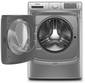 """MHW8630HC Maytag 27"""" 5.0 Cu. Ft. Front Load Washer with Clean Washer Cycle and Fresh Hold Option - Slate"""