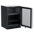 """MLBV124SG01A Marvel 24"""" Beverage Center with Wine Cradle and Glass Door - Stainless Steel"""