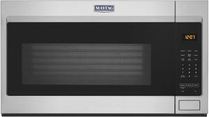 MMV1175JZ Maytag 1.9 Cu. Ft. Over the Range Microwave with Stainless Steel Cavity - Fingerprint Resistant Stainless Steel