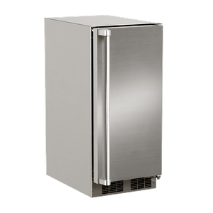 """MOCR215SS01A Marvel 15"""" Outdoor Crescent Ice Maker - Stainless Steel"""