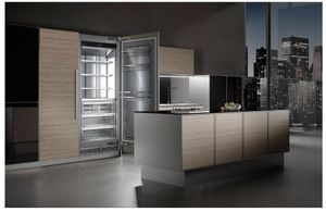 "MRB3000 Liebherr 30"" Monolith Built-In Counter Depth Column All Refrigerator with SuperCool and SuperQuiet - Reversible Hinge - Custom Panel"