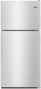 """MRT118FFFZ Maytag 30"""" 18 cu. ft. Top Freezer Refrigerator with Bright Series LED and Extra-Deep Door Bins - Fingerprint Resistant Stainless Steel"""