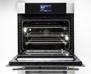 """MVDOE630SS Viking 30"""" Virtuoso 6 Series Double 8.3 cu. ft. Thermal Convection Oven with TruConvec and Self-Clean- Stainless Steel"""