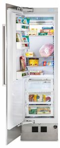 "MVFI7240WLSS Viking 24"" Virtuoso 7 Series Built In Column Counter Depth All Freezer with Pro Chill Temperature Management System and Automatic Ice Maker - Left Hinge - Stainless Steel"
