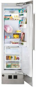 "MVFI7240WRSS Viking 24"" Virtuoso 7 Series Built In Column Counter Depth All Freezer with Pro Chill Temperature Management System and Automatic Ice Maker - Right Hinge - Stainless Steel"