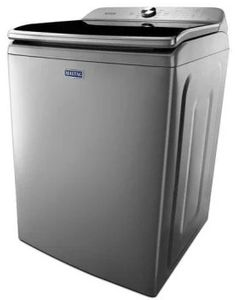 "MVWB965HC Maytag 30"" 6.0 cu. ft. Large Capacity Top Load Washer with Deep Fill Option and PowerWash Agitator - Metallic Slate"