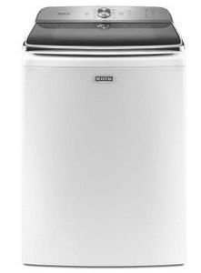 """MVWB965HW Maytag 30"""" 6.0 cu. ft. Large Capacity Top Load Washer with Deep Fill Option and PowerWash Agitator - White"""