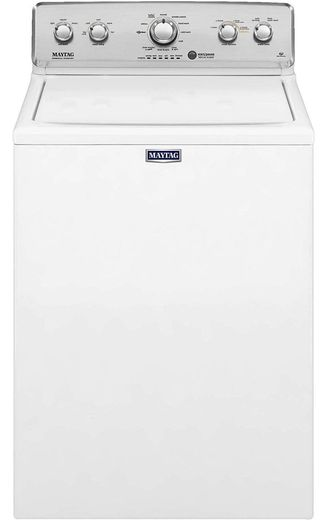 """MVWC565FW Maytag 28"""" 4.2 cu. ft. Top Load Washer with Deep Water Wash Option and PowerWash Cycle - White"""