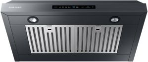 """NK30N7000UG Samsung 30"""" Range Hood With 600 CFM and Digital Touch Controls - Black Stainless Steel"""