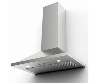 "NOPR36SSV Faber 30"" Nova Pro Wall Mount Range Hood with 4 Speed Electronic Controls and 600 CFM - Stainless Steel"