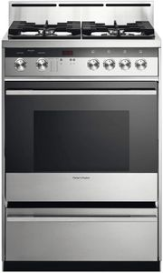 """OR24SDMBGX2N Fisher & Paykel 24"""" Gas Range - Stainless Steel"""
