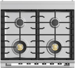 "OR30SCG6R1 Fisher & Paykel 30"" Classic Style Dual Fuel Range with Self-Clean Oven and AeroTech System - Red"