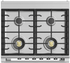 """OR30SCG6X1 Fisher & Paykel 30"""" Classic Style Dual Fuel Range with Self-Clean Oven and AeroTech System - Stainless Steel"""