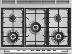 """OR36SCG4X1 Fisher & Paykel 36"""" Classic Style Gas Range with Multi Shelf Cooking and Easy Cleaning - Stainless Steel"""