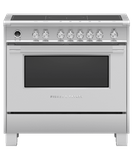 "OR36SCI6X1 Fisher & Paykel 36"" Series 9 Classic 5 Zone Induction Range with Convection Oven and Self Clean - Stainless Steel"