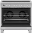 "OR36SDI6X1 Fisher & Paykel 36"" Contemporary Style Induction Range with 5 Cooking Zones and Nine Oven Functions - Stainless Steel"