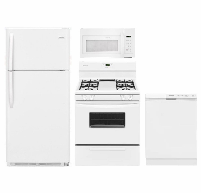 Package 18 - Frigidaire Appliance Package - 4 Piece ...