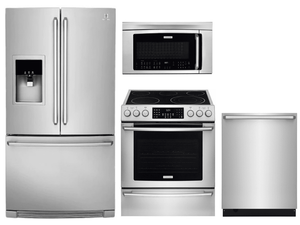 Package 30 - Electrolux Appliance Package - 4 Piece Appliance Package with Electric Range - Stainless Steel