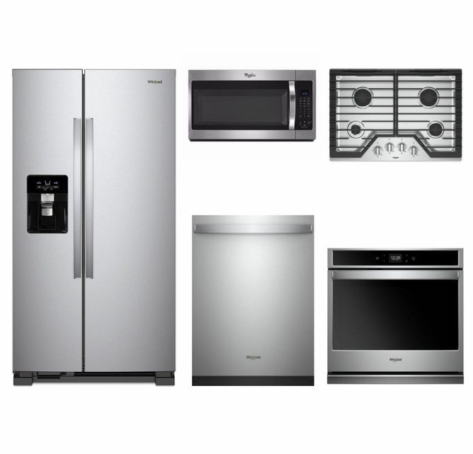 Package 35 - Whirlpool Appliance Built-In Package - 5 Piece ...