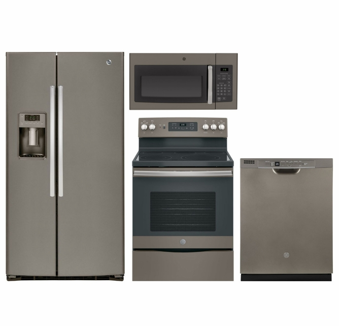 Package 36 - GE Appliance - 4 Piece Appliance Package with ...