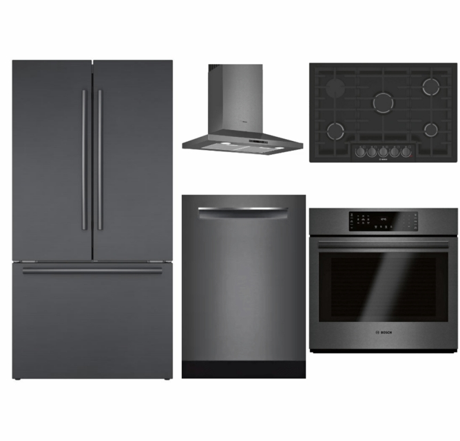 Package BBBS2 - Bosch Appliance Package - 5 Piece Built-In ...