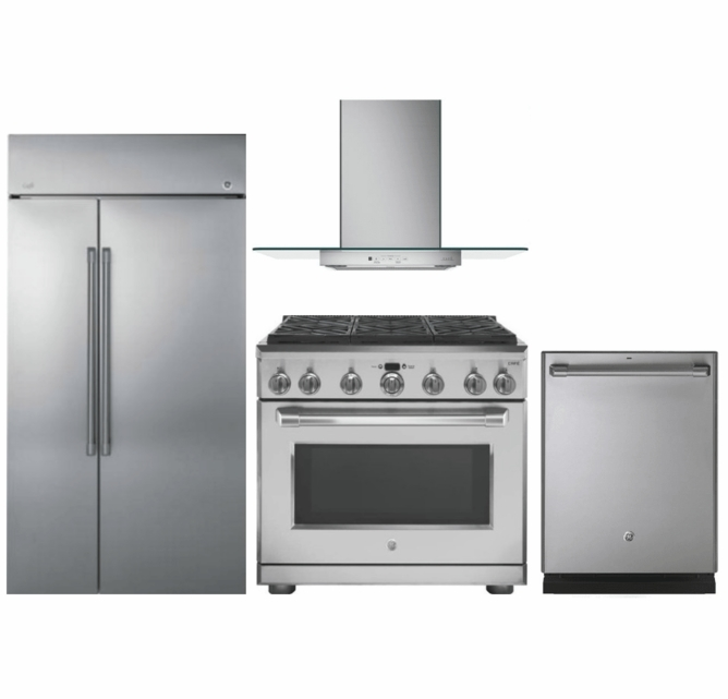 Package Cafe5 - Cafe Appliances Built In Package - 4 Piece ...