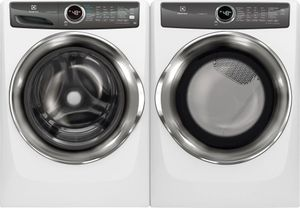Package ELE527IWE - Electrolux Washer and Dryer Package - Front Load Washer and Electric Dryer - White