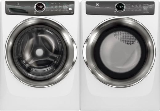 Package ELE527IWE - Electrolux Appliance Laundry Package - Front Load Washer with Electric Dryer - White