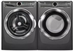Package ELE627TTG - Electrolux Appliance Laundry Package - Front Load Washer with Gas Dryer - Titanium