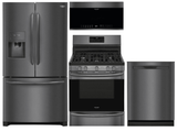 Package FGBS2 - Frigidaire Appliance Package - 4 Piece Appliance Package with Gas Range - Black Stainless Steel