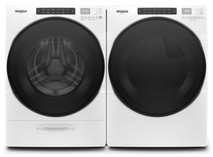 Package WHI6620WE - Whirlpool Appliance Laundry Package - Front Load Washer with Electric Dryer - White