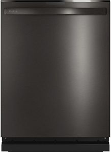 "PDT775SBNTS GE Profile 24"" Stainless Steel Interior Hidden Control Dishwasher with Twin Turbo DryBoost and Wifi Connect - Black Stainless Steel"