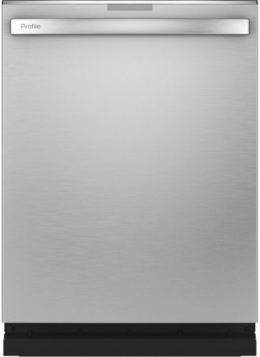 "PDT775SYNFS GE Profile 24"" Stainless Steel Interior Hidden Control Dishwasher with Twin Turbo DryBoost and Wifi Connect - Fingerprint Resistant Stainless Steel"